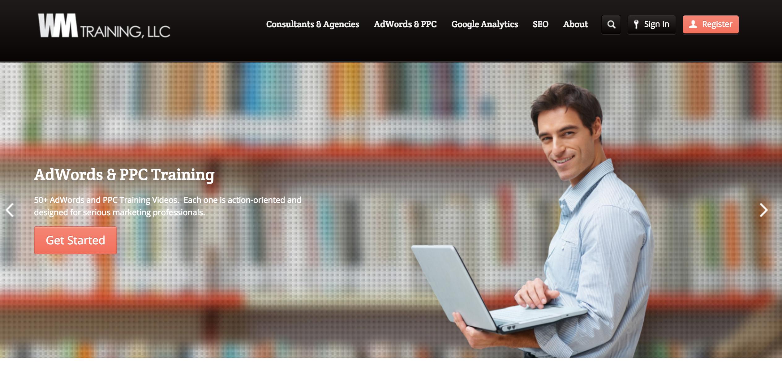 Online Advertising Training Homepage
